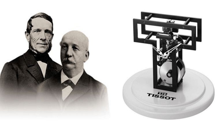 đồng hồ Tissot 1853 2 cha con Charles sáng lập