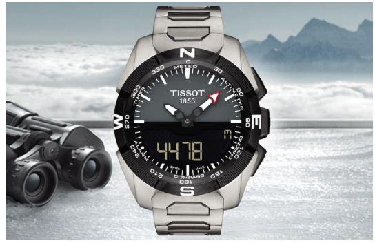 đồng hồ Tissot 1853 chống từ trường đầu tiên