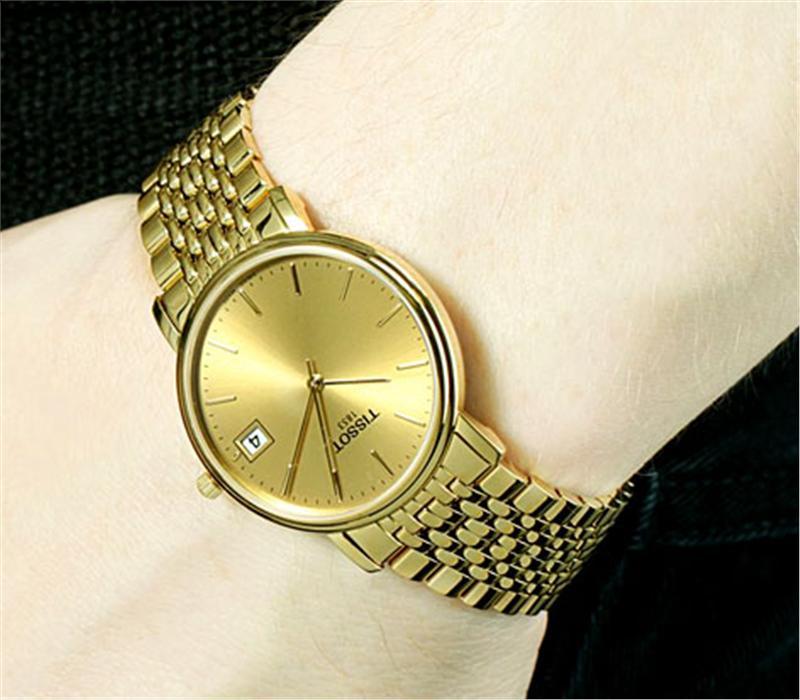 đồng hồ Tissot 1853 full Gold 18k