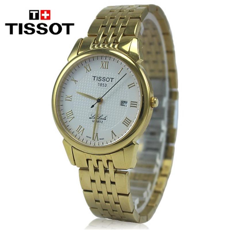 Đồng hồ Tissot 1853 mạ vàng