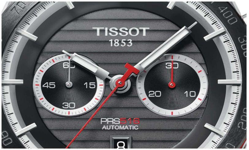 Đồng hồ Tissot 1853 PRS 516 ấn tượng màu sắc