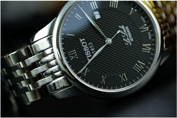 Đồng hồ Tissot 1853 viên đạn bạc