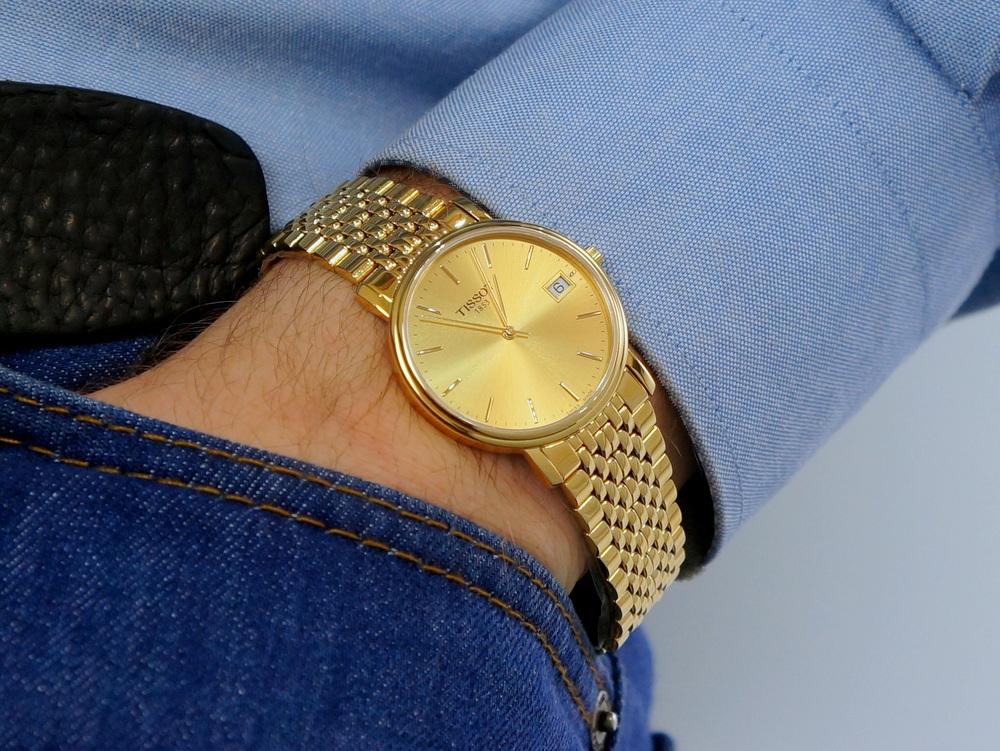 Đồng hồ Tissot Gold sang trọng