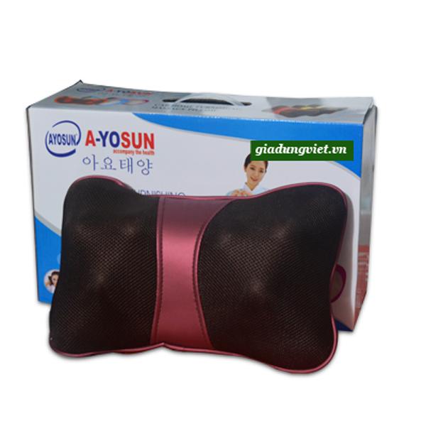 Gối massage hồng ngoại AYOSUN AYS-696E+
