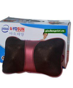 Cải thiện sức khỏe với gối massage điện
