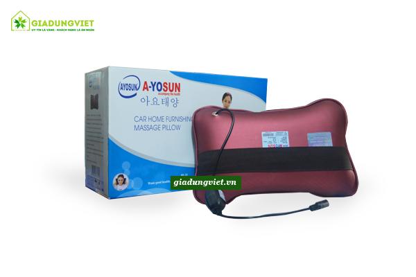 Gối massage hồng ngoại AYOSUN AYS-696E+ bền đẹp