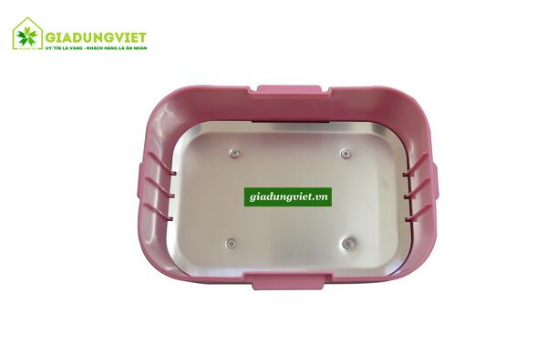 Hộp cơm hâm nóng Golmes GM01 inox dày