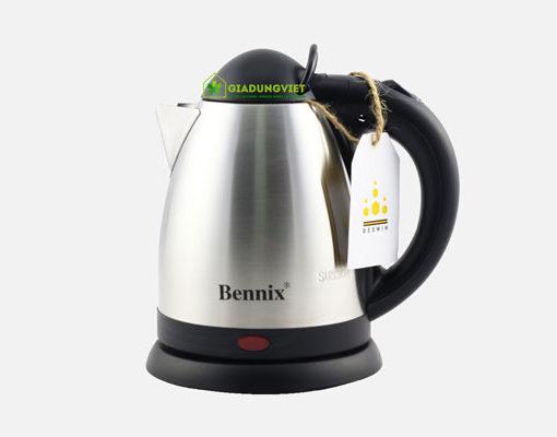 Ấm siêu tốc Bennix 0,8L gọn nhẹ