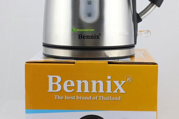 Ấm siêu tốc Bennix BN – 1018MC chắc chắn
