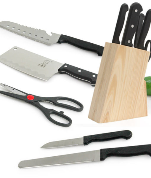 Bộ dao inox 7 món sang trọng