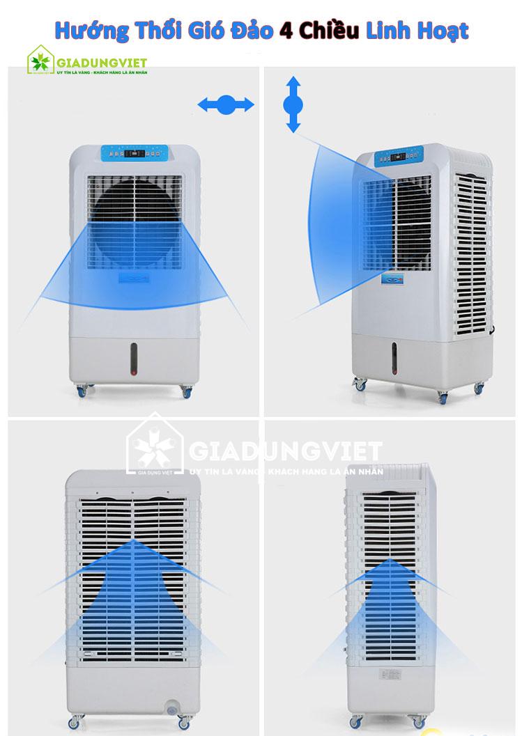 Quạt điều hòa không khí Panasonic GY60 hướng gió