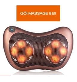 Gối massage hồng ngoại Magic 8 viên bi