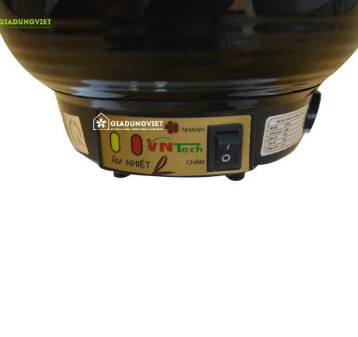 Ấm sắc thuộc điện tự động Vntech VN162 công tắc