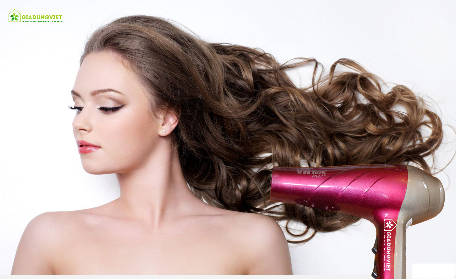 Máy sấy tóc Vntech VN-S11 tóc đẹp