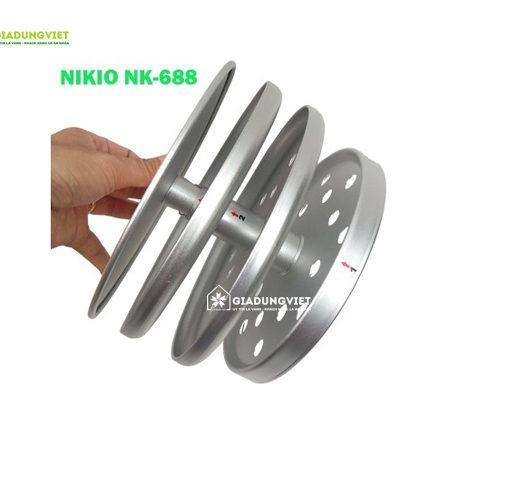 Nồi làm tỏi đen Nikio NK-688 vỉ hấp