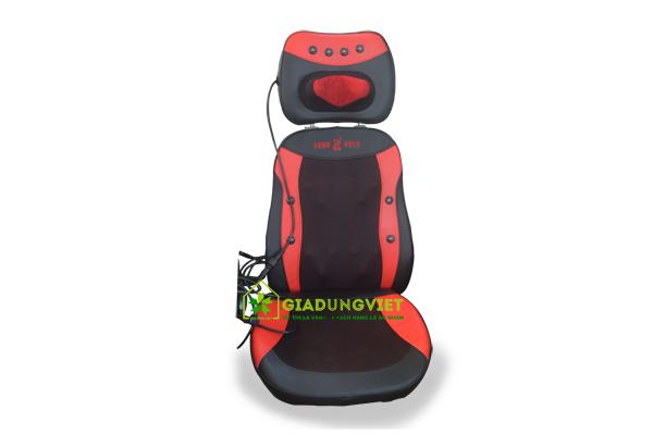 ghế massage toàn thân Đài Loan 14 bi (màu đỏ)