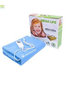 Nệm điện Mega Life 1 vùng nhiệt ảnh bìa