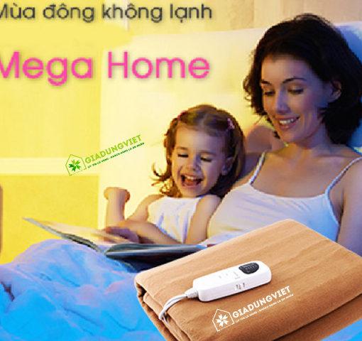 Nệm điện Mega Life 1 vùng nhiệt làm ấm nhanh