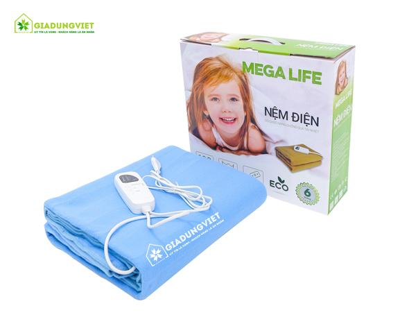 Nệm điện Mega Life 1 vùng nhiệt