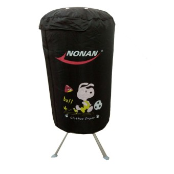 Tủ sấy quần áo Nonan MS004 tròn màu đen