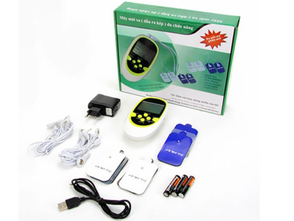 Máy massage trị liệu xung điện 8 miếng dán cho người già