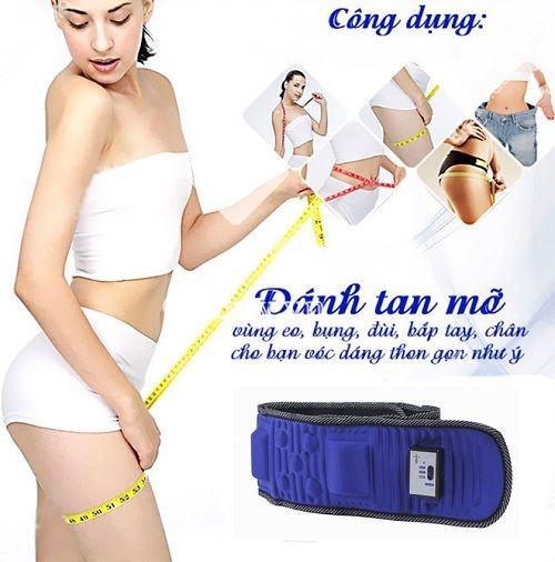 Bí quyết eo thon bụng phẳng với máy massage bụng X5 HL-808