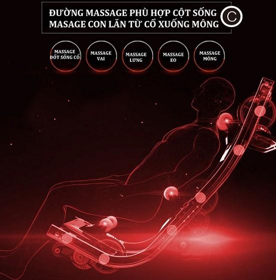 Ghế massage toàn thân Luxury thông minh