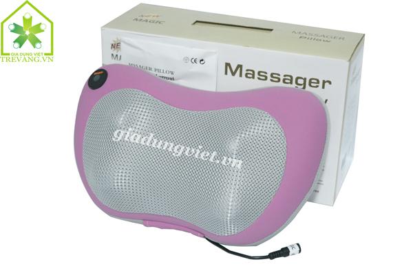 Thư giãn với gối massage gintell