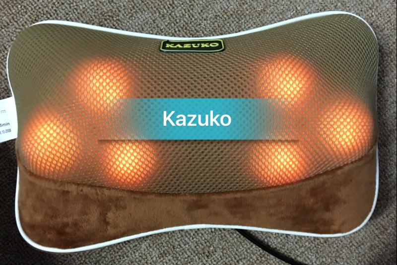 Lưu ý khi chọn mua gối massage kazuko Nhật Bản