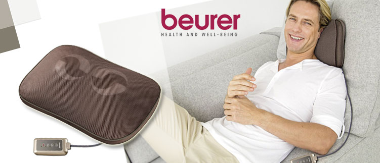Trải nghiệm massage đỉnh cao với gối massage beurer