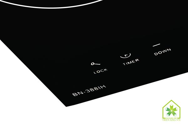 Thiết kế bề mặt Bếp từ Bennix BN 388IH