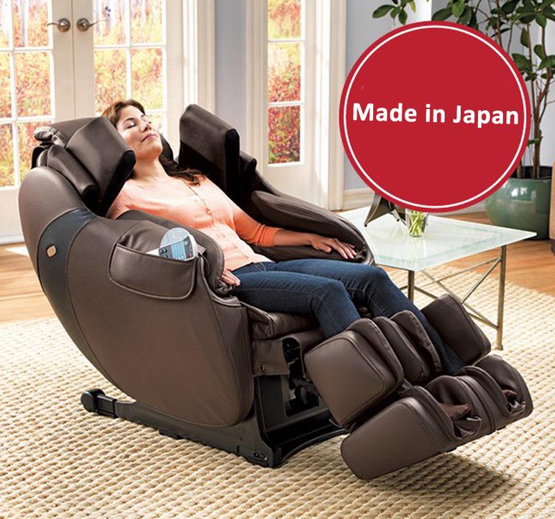 Ghế massage toàn thân nội địa nhật, hội tụ tinh hoa công nghệ massage