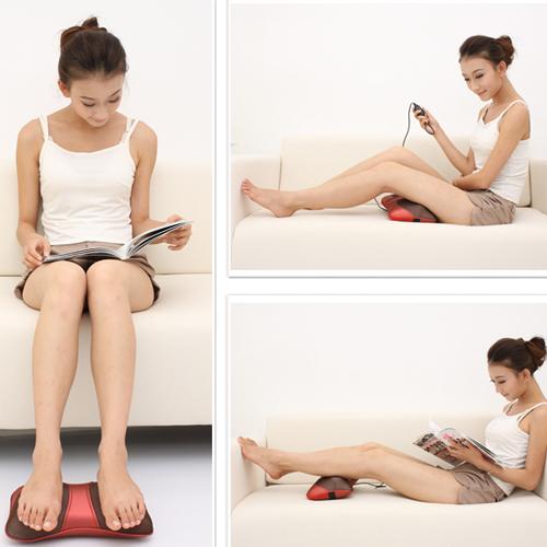 Chăm sóc sức khỏe nhờ gối massage đa năng