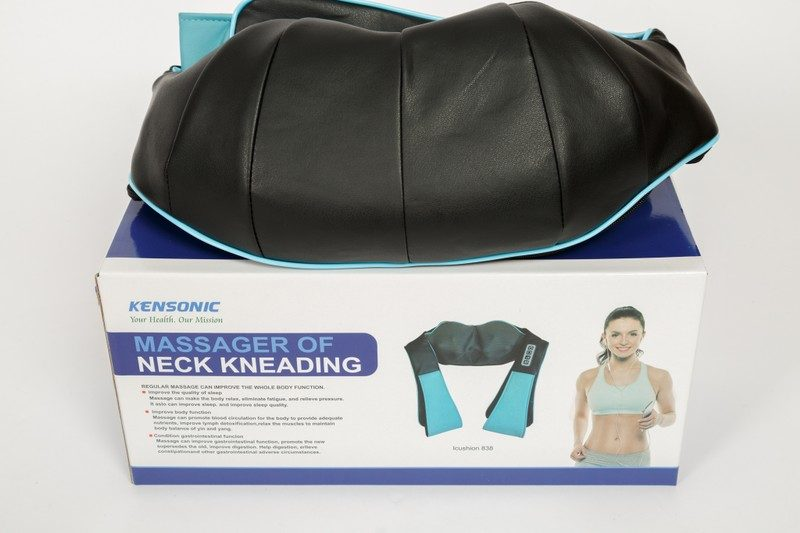 Tác dụng tuyệt vời đến từ gối massage kensonic