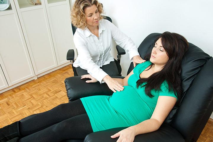 Máy massage lưng cho bà bầu dạng gối massage