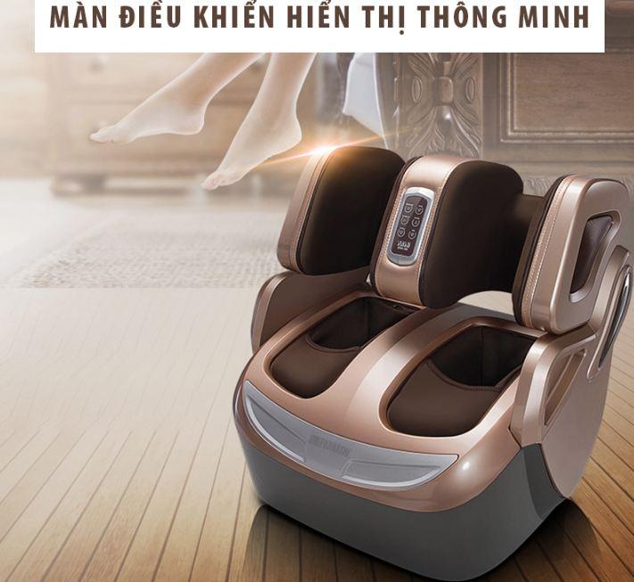 Đôi chân chắc khỏe hơn với máy massage chân Nhật Bản