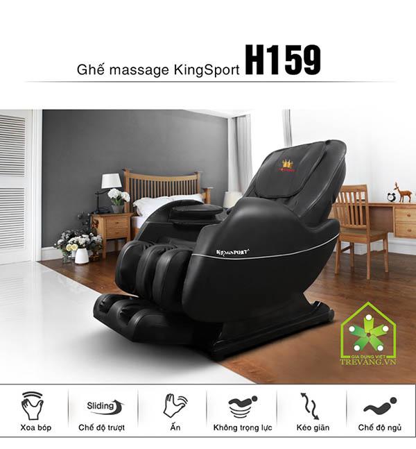 ghế massage toàn thân King Sport H159