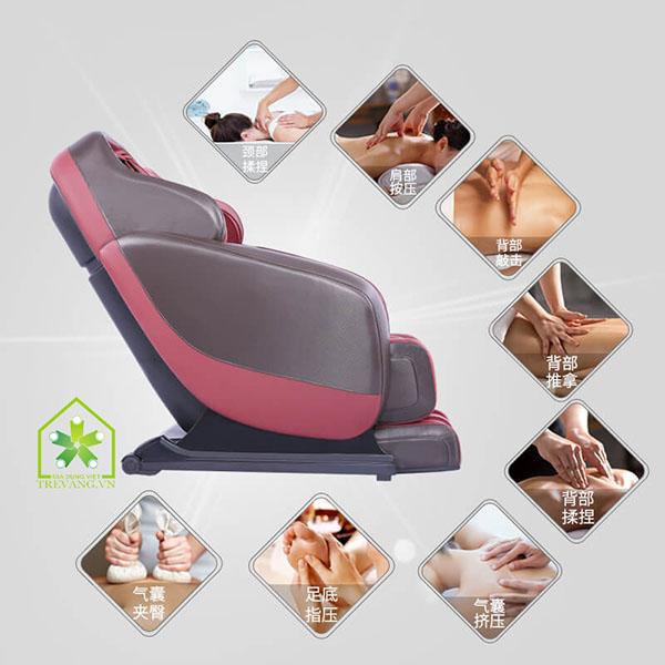 Ghế massage toàn thân shika mới mẻ