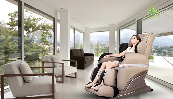 Ghế massage toàn thân nội địa nhật
