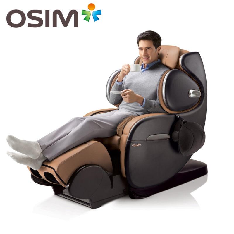 Cách hoạt động của ghế massage toàn thân Osim nhằm đẩy lùi cơn đau cột sống lưng