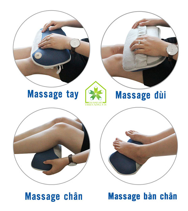 gối massage buheung