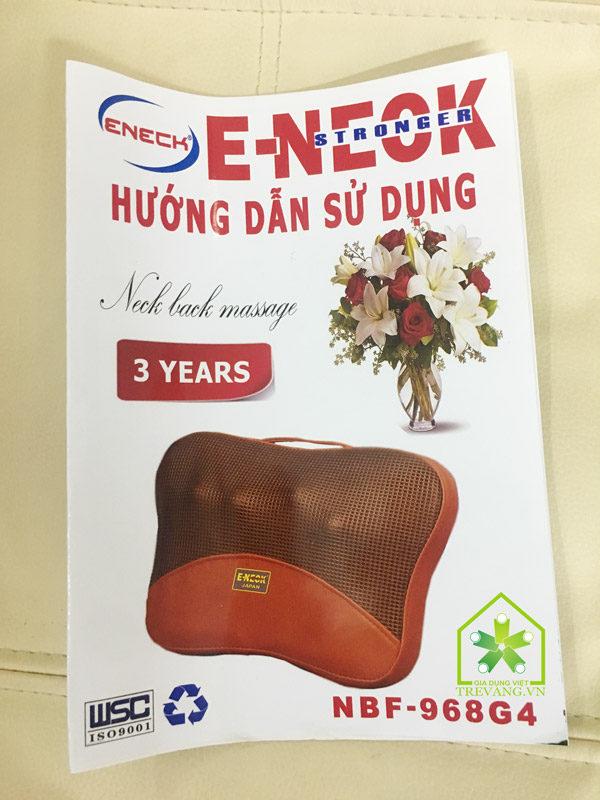 Gối massage hồng ngoại Eneck