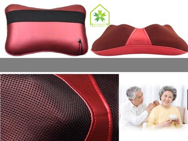 gối massage hồng ngoại royal