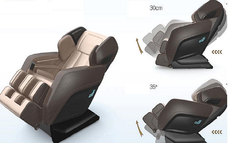 Những ưu điểm khi sử dụng ghế massage toàn thân