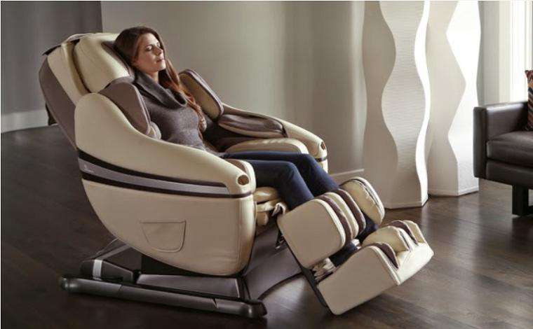 Đau lưng sẽ tan biến sau 15 phút sử dụng ghế massage toàn thân cao cấp