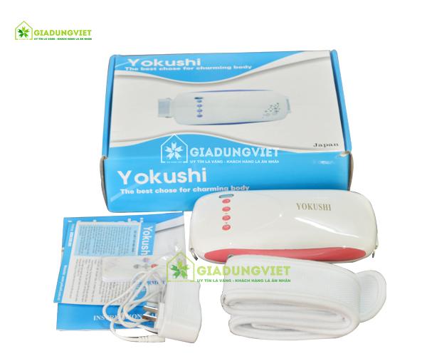Máy massage bụng nhật bản Yokushi YK118 mẫu đẹp
