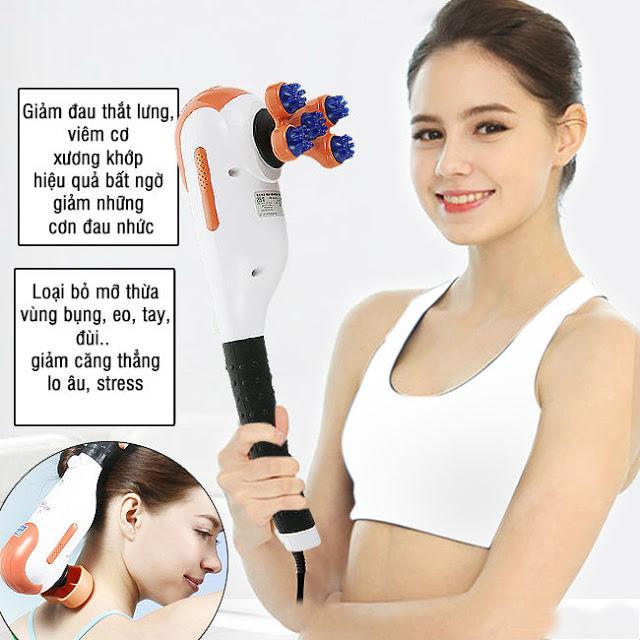 Thư giãn cơ thể đau nhức nhờ máy massage cầm tay chính hãng