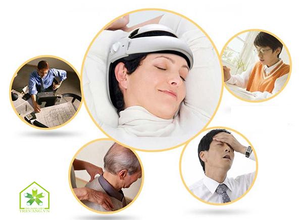 máy massage da đầu
