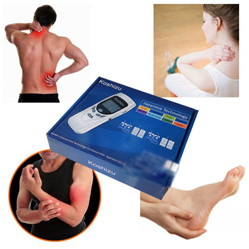 Bộ sản phẩm máy massage trị liệu 8 miếng dán aukewel