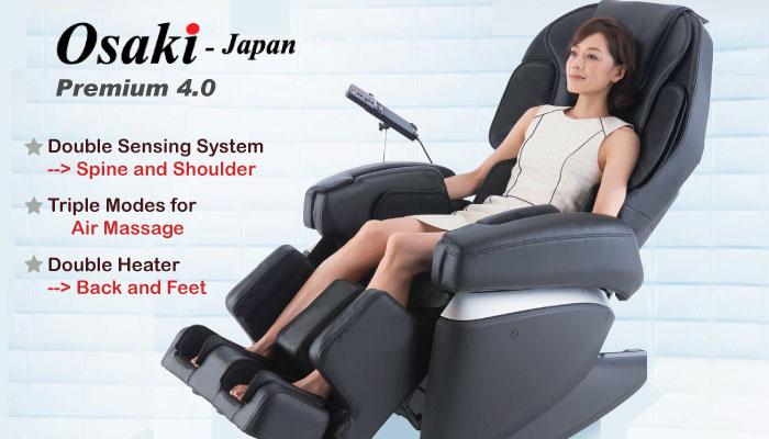 ghế massage toàn thân nội địa nhật hiện đại